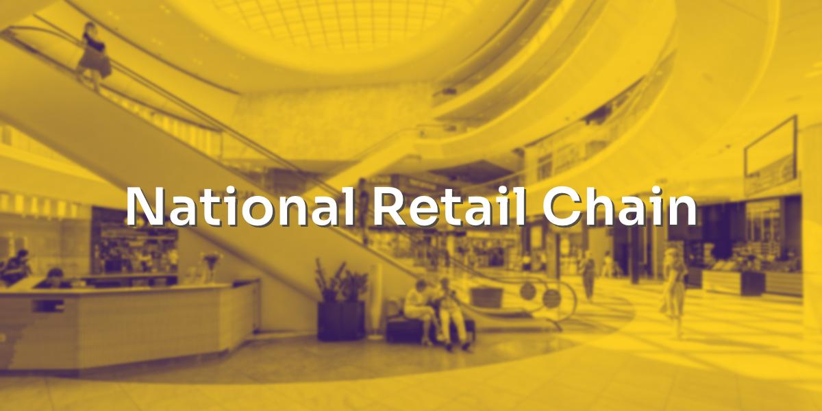 National Retail Chain